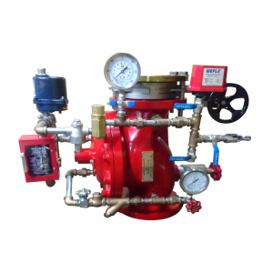 Automatic Valve for Tunnel